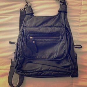 Vegan Leather Purse/Backpack